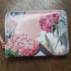New Ted Baker Floral Mini Wallet